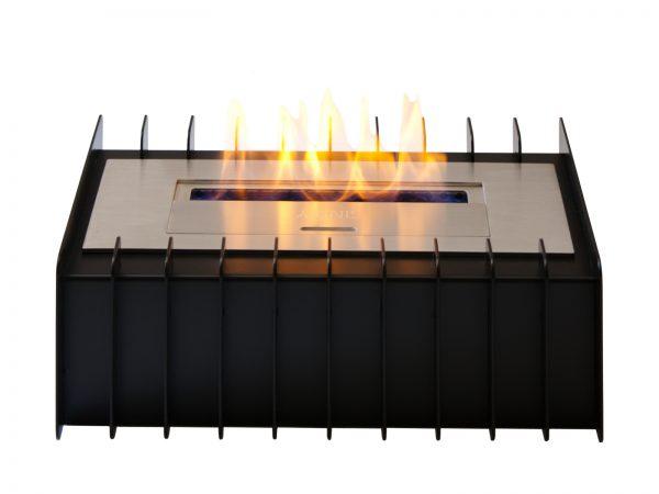 EBG1200 Bio Ethanol Fireplace Grate Front View