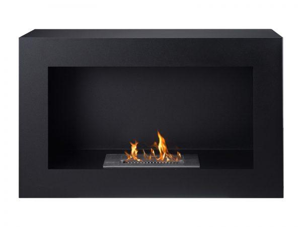 Spectrum Freestanding Ethanol Fireplace - Front View