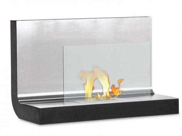 Ferrum - Wall Mount Ventless Ethanol Fireplace