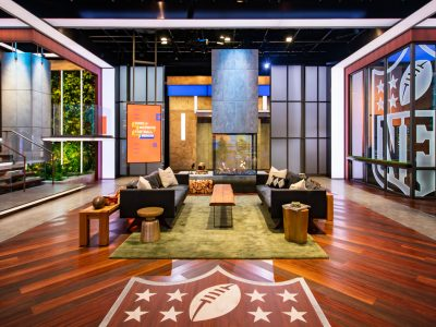 NFL Studio Featuring Ignis Burner