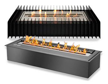 Classic Ventless Ethanol Burners and Grates