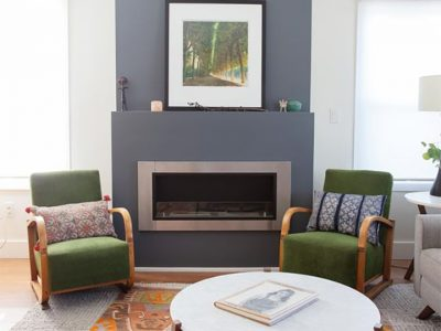 Lata Recessed Ethanol Fireplace by IGNIS®