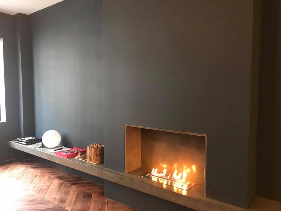 IGNIS Bio Ethanol Fireplace Insert Configuration - Single Sided