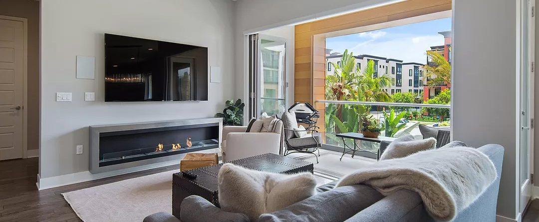 Wall Mounted Ethanol Fireplace - IGNIS® Maximum